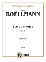 Suite Gothique, Opus 25