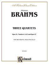 Three String Quartets, Opus 51, Nos. 1 & 2, Opus 67