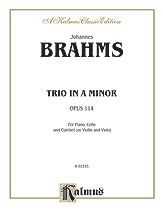 Trio in A Minor, Opus 114