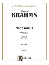 Piano Works, Volume II (incl. Opus 119 & 5 Etudes)