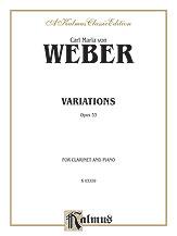 Weber: Variations, Op. 33