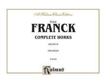 Organ Works, Volume III
