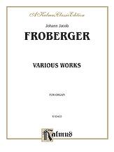 Frescobaldi: Various Organ Works