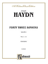 Forty Three Sonatas, Volume I (Nos. 1-11)