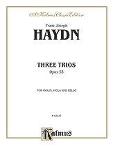 Three Trios, Opus 53