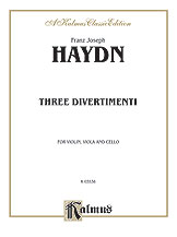 Three Divertimenti