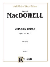 Witches Dance, Opus 17, No. 2