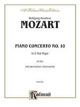 Piano Concerto No. 10 in E-flat Major for Two Pianos, K. 365