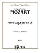 Piano Concerto No. 26 in D, K. 537