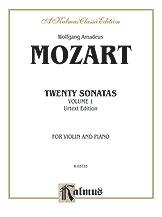 Mozart: Twenty Sonatas (Urtext), Volume I