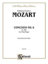 Mozart: Violin Concerto No. 6 in E flat Major, K. 268