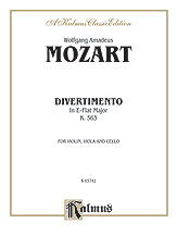 Divertimento in E-flat Major, K. 563
