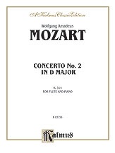 Flute Concerto No. 2 in D Major, K. 314