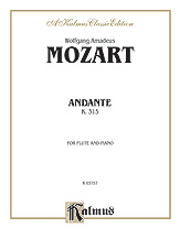 Andante for Flute, K. 315 (C Major) (Orch.)