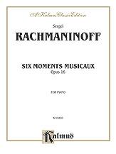 Six Moments Musicaux, Opus 16