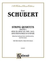 String Quartets, Volume I: Opus 29; Opus 125, Nos. 1 & 2; Opus Posthumous in D Minor