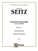 Seitz: Student's Concerto No. 4 in D Major, Op. 15