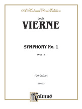 Vierne: Symphony No. 1, Op. 14