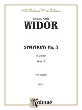 Symphony No. 3 in E Minor, Opus 13