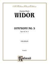 Widor: Symphony No. 5 in F, Op. 42