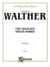 Five Selected Organ Works