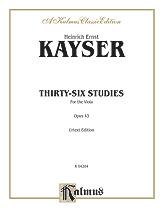 Thirty-six Studies, Opus 43
