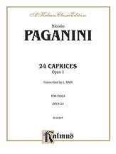 24 Caprices, Opus 1