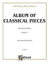 Album of Classical Pieces, Volume II