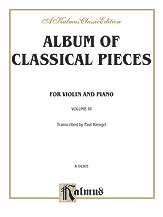 Album of Classical Pieces, Volume III
