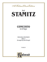 Concerto in D Major, Opus 1