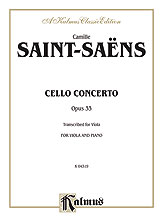 Cello Concerto, Opus 33
