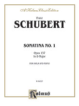Sonatina No. 1 in D Major, Opus 137