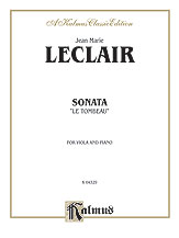 Sonata 'Le Tombeau'