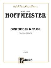 Hoffmeister: Viola Concerto in D Major