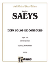 Deux Solos de Concours, Opus 130 (Urtext Edition)