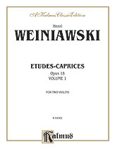 Etudes-Caprices, Opus 18