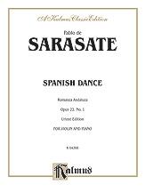 Sarasate: Spanish Dance, Op. 22, No. 1 (Romanza Andaluza)