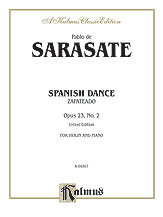 Sarasate: Spanish Dance, Op. 23, No. 2 (Zapateado)