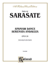 Sarasate: Spanish Dance, Op. 28 (Serenata Andaluza)