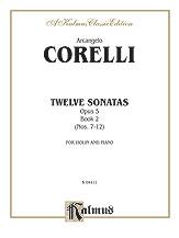 Twelve Sonatas, Opus 5, Volume II