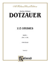 113 Studies, Volume I (Nos. 1-34)