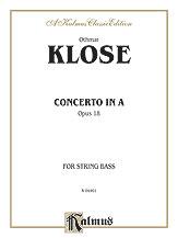 Klose: Concerto in A, Op. 18