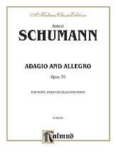 Adagio and Allegro, Opus 70
