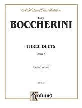 Boccherini: Three Duets, Op. 5