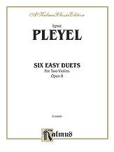 Pleyel: Six Easy Duets, Op. 8