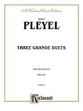 Three Grande Duets, Opus 69