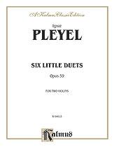 Pleyel: Six Easy Duets, Op. 59