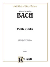 Bach: Four Duets for Violin and Viola
