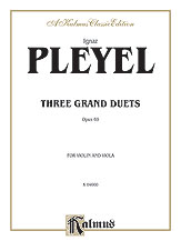 Three Grand Duets, Opus 69
