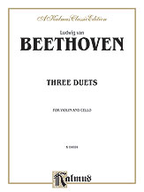 Three Duets for Violin and Cello